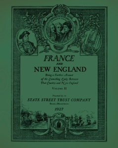 France and New England 2 COVER FRONT ONLY