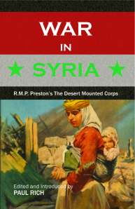 War in Syria COVER FRONT ONLY
