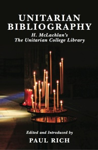 Unitarian Bibliography COVER FRONT ONLY