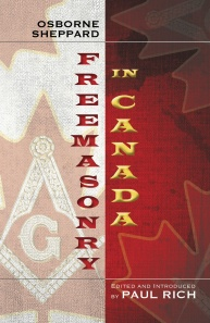 Freemasonry in Canada COVER FRONT ONLY