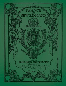 France and New England 1 COVER FRONT ONLY
