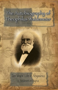 Autobiography of Theophilus Waldeimer COVER FRONT ONLY