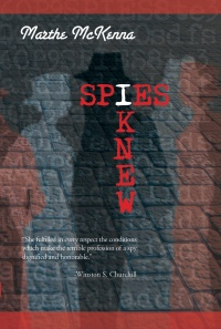 Spies I Knew COVER FRONT ONLY