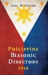 Philippine Masonic Directory ~ 1918