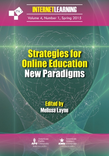 A New Paradigm Of Public Education >> Strategies For Online Education New Paradigms Internet Learning