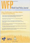 New Challenges and New Roles in World Food Policy