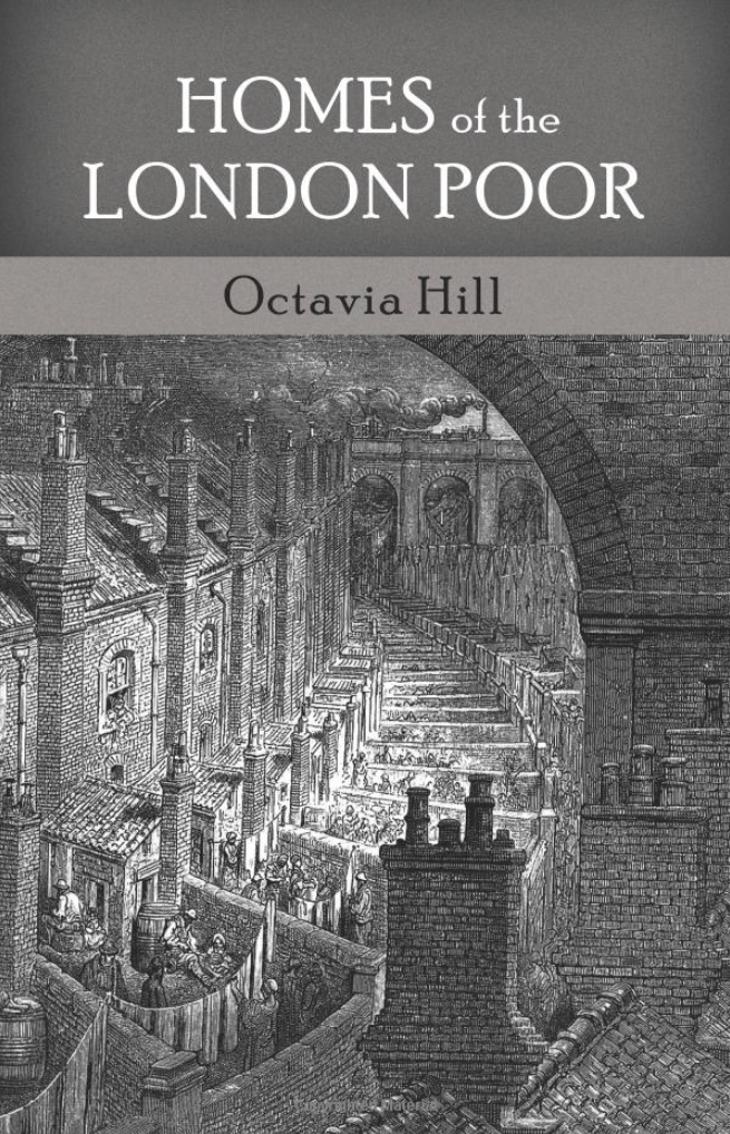 This is a cover of the book. It features a black and white illustration of an industrial scene of the city from the rooftop perspective