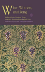 purple border at the top with the title of the book, and an image of grapes against green scrollwork vines