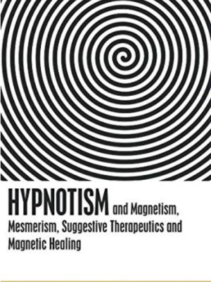 Large black and white swirl at the top of the cover, with the title at the bottom