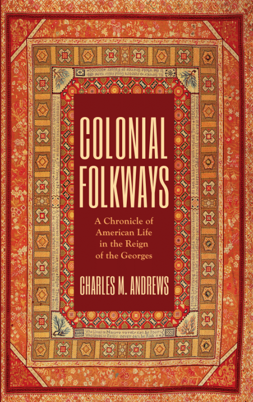 This is a book cover. It features a red-based rug with the title text and author info in the middle