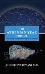 This cover has the title text in a blue box, and some Greek text over a stone to show concepts of translation